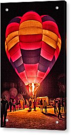 Night Lighting Of Ballon Acrylic Print