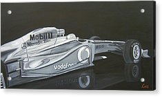 Night Race Acrylic Print