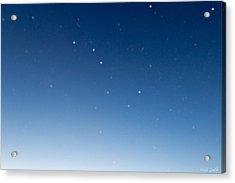 Night Sky Acrylic Print by Heidi Smith