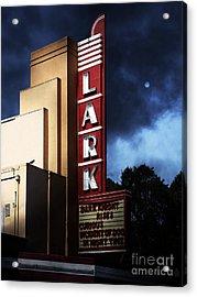Nightfall At The Lark - Larkspur California - 5d18482 Acrylic Print by Wingsdomain Art and Photography