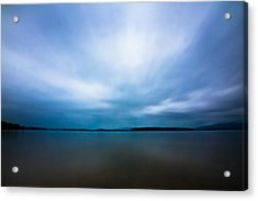 Nightfall On The Lake II Acrylic Print