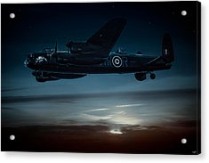 Nightflight Acrylic Print by Chris Lord