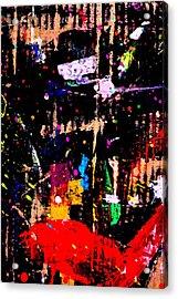 Nighttown X Acrylic Print by John  Nolan