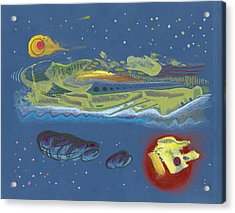 Nightworld Acrylic Print by Ralf Schulze