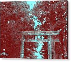 Nikko Gate Acrylic Print by Naxart Studio