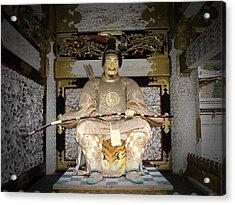 Nikko Golden Sculpture Front Acrylic Print
