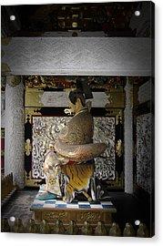 Nikko Golden Sculpture Acrylic Print