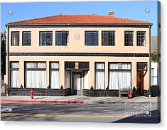 Niles California Banquet Hall . 7d12736 Acrylic Print by Wingsdomain Art and Photography