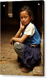 Nine Years Old Acrylic Print