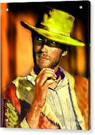 Nixo Eastwood The Good Bad The Ugly Acrylic Print