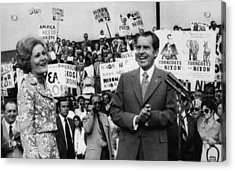 Nixon Presidency.  First Lady Patricia Acrylic Print by Everett