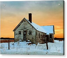 No. 7 County Line Road Acrylic Print