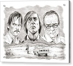 No Country For Old Men Acrylic Print by Jamie Warkentin