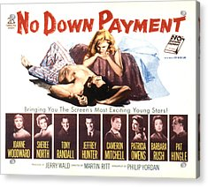 No Down Payment, Joanne Woodward Acrylic Print