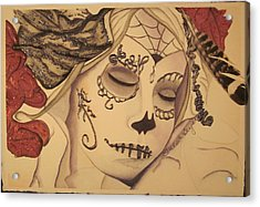 No Evil Acrylic Print by Teresa Beyer