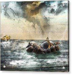 Noah's Ark Stragglers Acrylic Print
