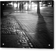 Nocturne - Night - New York City Acrylic Print