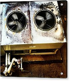 #noise On #film Part Acrylic Print