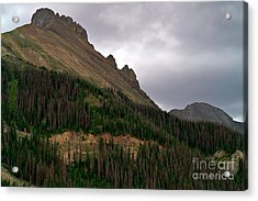 Nokhu Crags Colorado Acrylic Print by Michael Kirsh