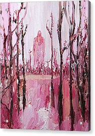 None Can Reach Heaven Who Has Not Passed Through Hell Acrylic Print by Fabrizio Cassetta