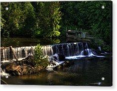 Nora Mill Falls Acrylic Print