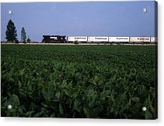 Norfolk Southern Midwest Acrylic Print by Susan  Benson