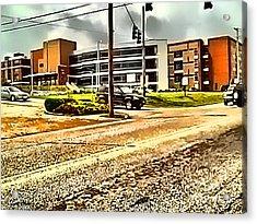 North Arkansas Regional Medical Center Acrylic Print by Kathy Tarochione