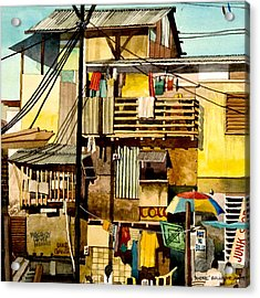 North Bay Squatters Acrylic Print by Andre Salvador