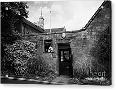 North Down Museum And Heritage Centre In Bangor Castle Now The Town Hall Acrylic Print by Joe Fox