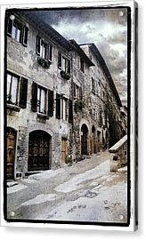 North Italy  Acrylic Print by Mauro Celotti