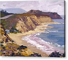 North Of Crystal Cove Acrylic Print by Mark Lunde