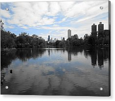 North Pond Acrylic Print