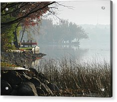 North Shore Acrylic Print by Dennis Leatherman