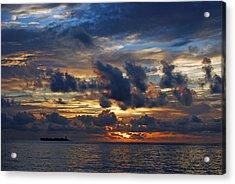 Northbound At Sunrise Acrylic Print