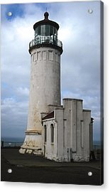 Northhead Lighthouse At Cape Disappointment  Acrylic Print
