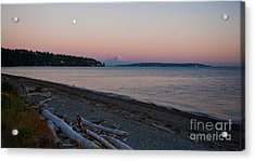 Northwest Evening Acrylic Print by Mike Reid