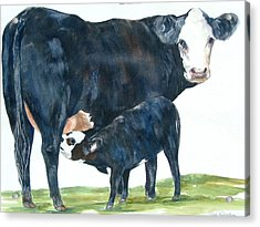 Nothing But Mother's Milk For My Baby Acrylic Print