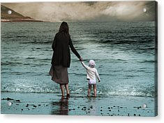 Nothing Is Too Big With A Hand To Hold Acrylic Print by Julie L Hoddinott
