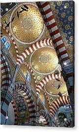 Notre Dame De La Gard Acrylic Print