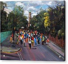 Notting Hill Carnival Acrylic Print by Edward Ofosu