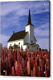 Nova Scotia Church Acrylic Print