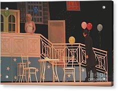 Now In Theater Acrylic Print by Alisa Tek