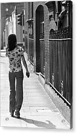 Nowhere To Go Acrylic Print by Tim Graham