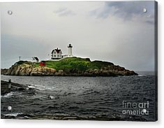 Nubble Light Acrylic Print by Adrian LaRoque