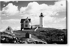 Nubble Lighthouse - Cape Neddick Maine Acrylic Print by Christy Bruna