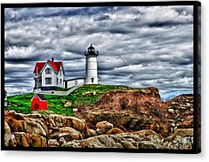 Nuble Light Creation Acrylic Print by Rick Bragan
