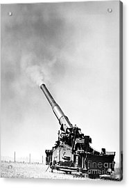 Nuclear Artillery, 1950s Acrylic Print by Granger