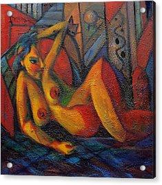 Nude No 1 Acrylic Print