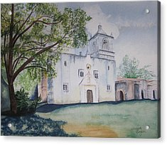 Nuestra Senora Acrylic Print by Teresa Beyer