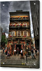 Number 52 Victoria Street Acrylic Print by Yhun Suarez